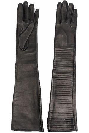 Manokhi Ellenbogenlange Handschuhe