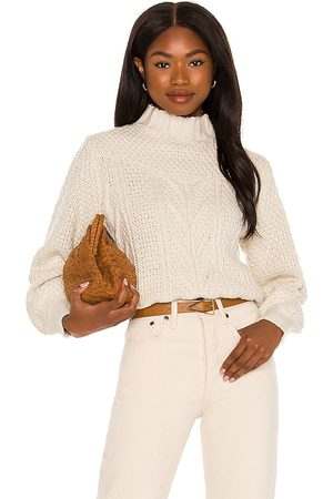 Minkpink Damen Strickpullover - Haoma High Neck Knit Jumper in . Size M, S, XS.