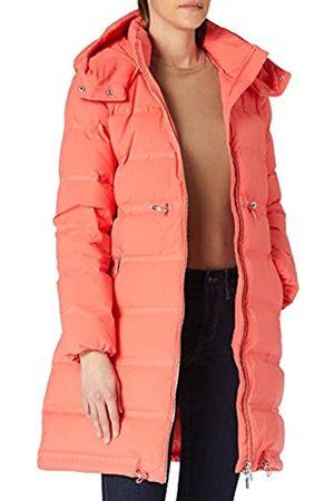 Armani Exchange Womens 100 gr Knee Length Puffer Logo Tape Down Coat