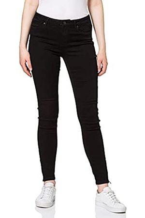 VERO MODA Female Skinny Fit Jeans VMTilde Normal Waist Ankle S32Black Denim