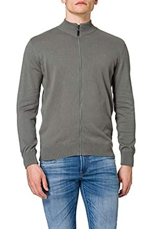 Mexx Mens Elegant with Zipper Cardigan Sweater