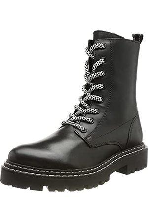 Marco Tozzi Damen 2-2-25294-27 Leder Boot, Black/White