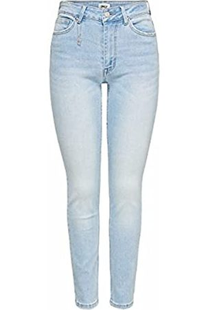 ONLY Female Skinny Fit Jeans ONLErica Life Mid Ankle L30Light Blue Denim