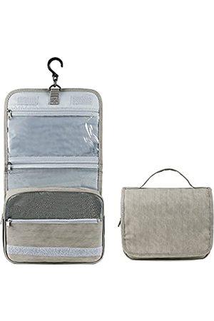 MDSTOP Kulturbeutel Reisetasche mit Haken zum Aufhängen, wasserabweisend, Make-up-Kosmetiktasche, Reise-Organizer für Zubehör, Shampoo, Behälter in voller Größe