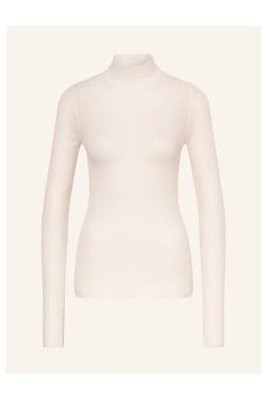 HUGO BOSS Damen Strickpullover - Pullover weiss