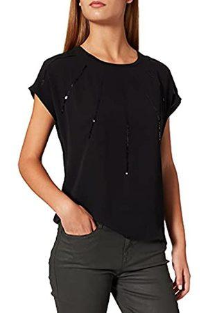 ONLY Damen ONLLOUISA S/S Sequins TOP JRS T-Shirt