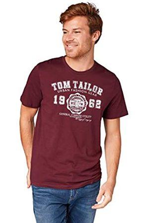 TOM TAILOR Herren Logodruck T-Shirt