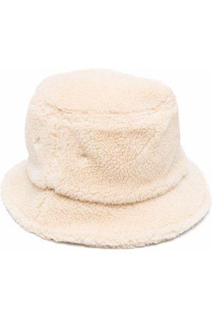 Universal Works Faux-shearling bucket hat