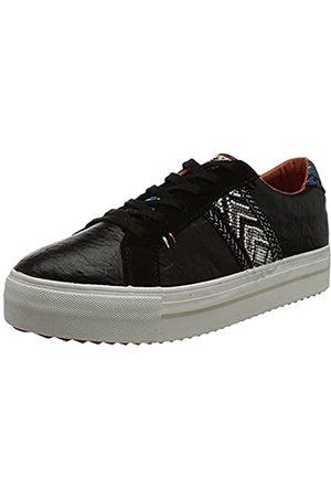 Desigual Damen Shoes_STREEET_Ethnic Sneaker, Black