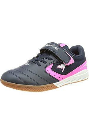 KangaROOS Damen K5-Court EV Sneaker, dk Navy/neon pink