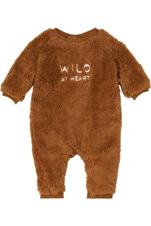 Louise Misha Baby Strampler James aus Faux Shearling