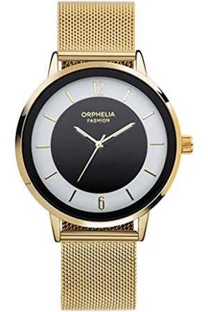 ORPHELIA Fashion Herren Analog Quartz Uhr Moonwalk mit Mesh Edelstahl Armband