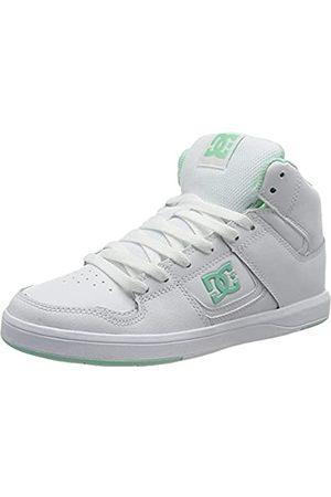 DC Dcshoes Damen Cure HI TOP Sneaker, Weiss