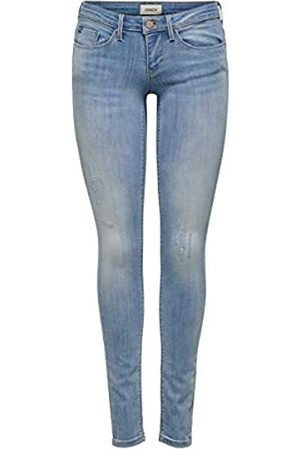 ONLY Damen Onlcoral Sl Sk Bb Cre185063 Skinny Jeans
