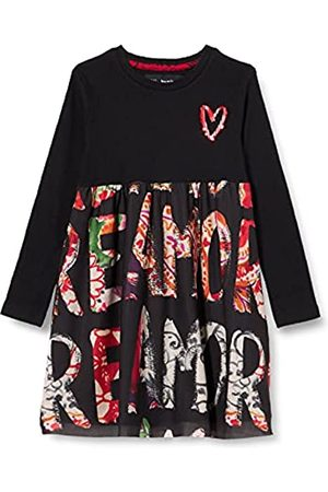 Desigual Girls Vest_AINA Casual Dress, Black