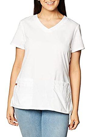 Dickies Damen Taschen - EDS Signature Damen Top mit V-Ausschnitt und Mehreren aufgesetzten Taschen Jr