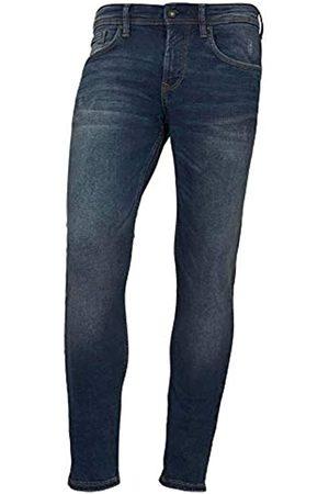 TOM TAILOR Denim Herren Skinny Culver Jeans, Used Dark Stone Blue 10120