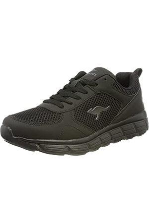 KangaROOS KR-Lima Damen Sneaker, (jet black/mono)