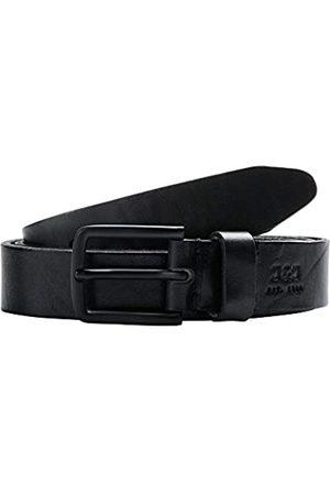 JACK & JONES Herren JacLee Leather Belt NOOS Gürtel, Black