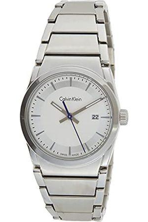 Calvin Klein Herren Analog Quarz Uhr mit Edelstahl Armband K6K33146