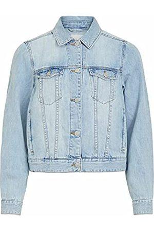 VILA Female Jeansjacke Oversize 40Light Blue Denim
