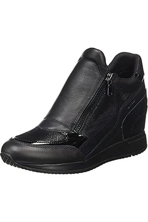 Geox Damen D NYDAME A Sneaker, Black