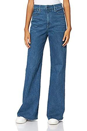 G-STAR RAW Womens Deck Ultra High Waist Wide Leg Jeans