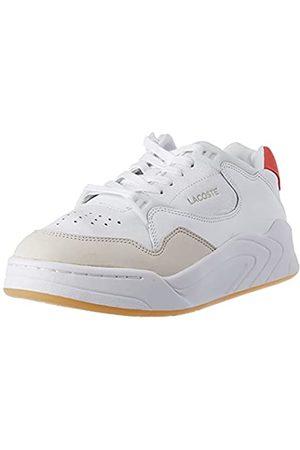 Lacoste Damen Court SLAM 0121 1 SFA Sneaker, Wht/Dk Pnk