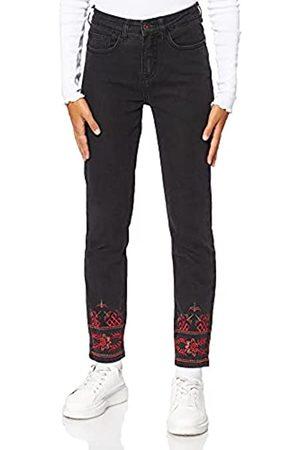 Desigual Damen Slim - Damen Trousers CALIPSO Slim Jeans