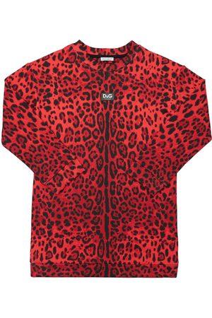 Dolce & Gabbana Mädchen Kleider - Kleid Aus Baumwolle Mit Druck