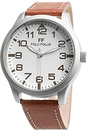 Folli Follie Herren Automatik Uhr mit Edelstahl Armband S0355444