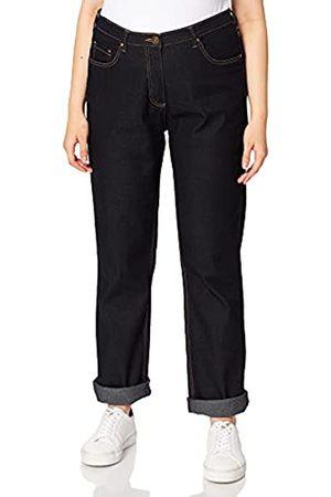 Ulla Popken Damen Jeans Regular Fit Stretch Straight Jeans