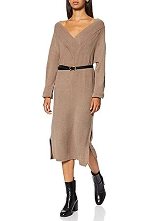 Vila Damen VIMADELIA V-Neck L/S Knit Dress-NOOS Kleid