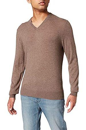 Hackett London Damen Strickpullover - Mens Wool Silk Cash V Sweater