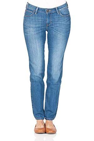 Lee Damen Jeans Scarlett - Skinny Fit - - High Blue, Größe:W 31 L 29