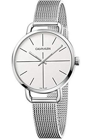 Calvin Klein Unisex Erwachsene Analog-Digital Quarz Uhr mit Edelstahl Armband K7B23126