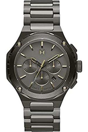 MVMT Herren analog Quarz Uhr mit Edelstahl Armband 28000153-D