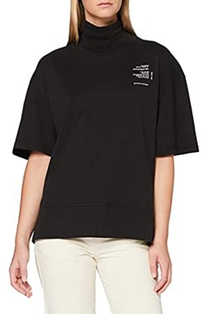 G-Star Womens Loose Graphic Funnel T-Shirt