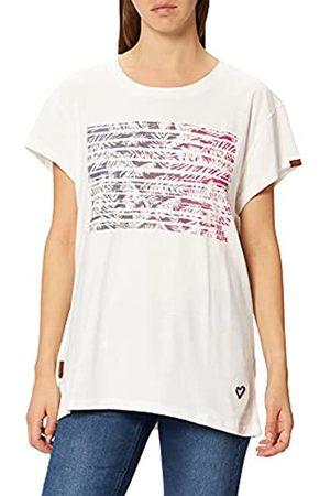alife kickin Alife and Kickin Damen MaxineAK T-Shirt, White