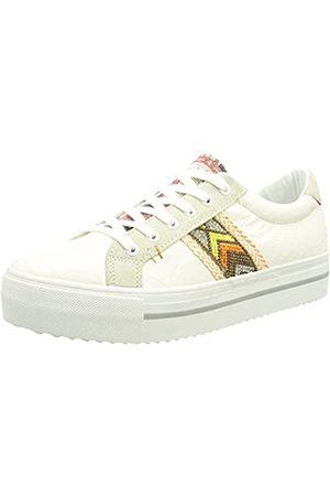 Desigual Damen Shoes_STREEET_Ethnic Sneaker, White