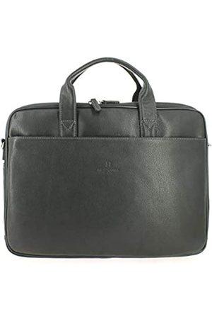 Hexagona Damen Laptop- & Aktentaschen - Confort Business, Damen Paris Aktentasche für Damen aus genarbtem Rindsleder Aktentasche Satchel Umhängetasche, L : 40 x h : 28