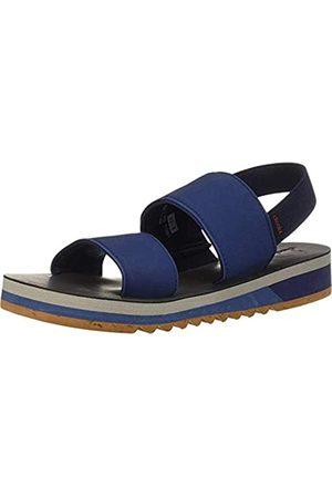 Chooka Damen Yoga Flatform Sport Sandalen, Blau (stahlblau)