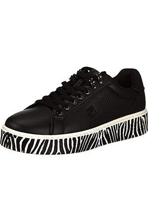 FILA Damen Crosscourt Altezza A wmn Sneaker, Black/Zebra
