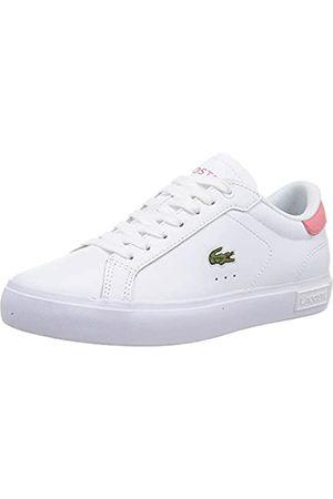 Lacoste Damen 42SFA0036 Sneaker, Wht/Dk Pnk