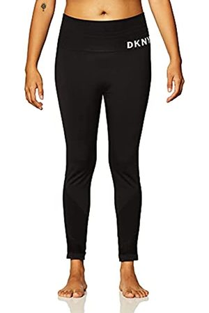 DKNY Damen High Waist Seamless Leggings