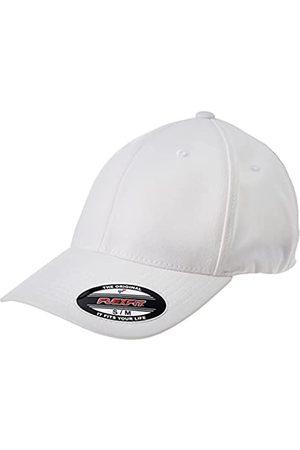 Flexfit Unisex-Adult Alpha Shape Baseball Cap, White