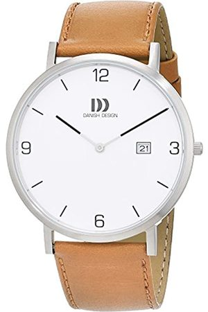 Danish Design Herren Analog Quarz Uhr mit Leder Armband 3314533