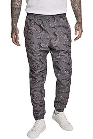 Urban classics Herren Camo Track Pants Sporthose, Mehrfarbig (Darkdesert 02271)