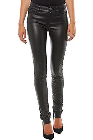 Oakwood Women's 60971 Slim Jeans, (Noir 501)