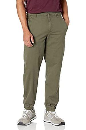 Amazon Herren-Jogginghose, gerade Passform, olive